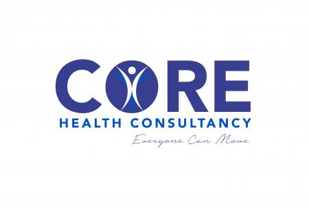 Core main logo with signature