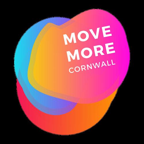 Move More Cornwall Logo in bright colours