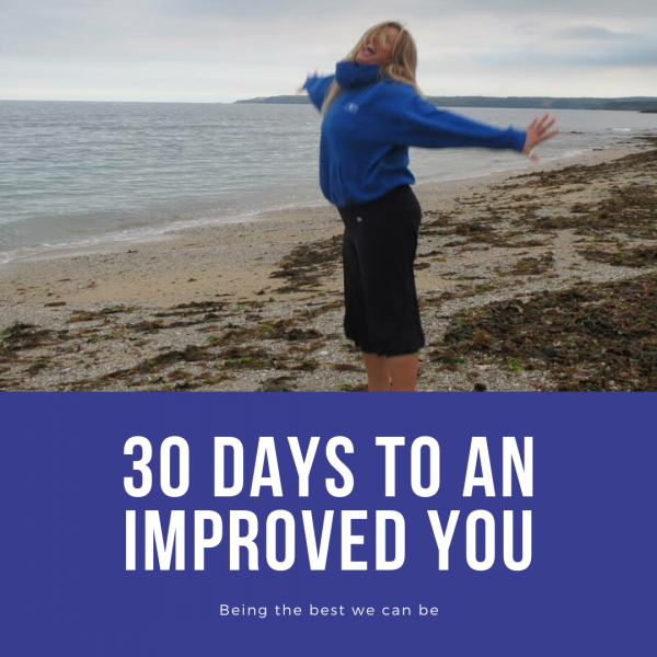 30 day plan, eat well, move well and think well